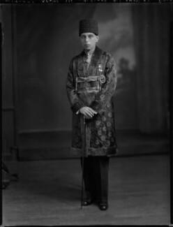 Sir Ali Khan Zulfikar, by Lafayette - NPG x69805