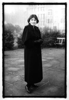 Joan Bakewell, by Jillian Edelstein - NPG x34141