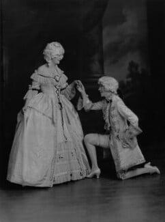 Lady Anne Maud Rhys (née Wellesley); (Lilian) Maud Glen (née Coats), Duchess of Wellington, by Lafayette - NPG x69958