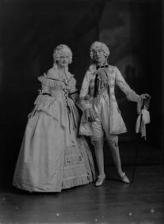 Lady Anne Maud Rhys (née Wellesley); (Lilian) Maud Glen (née Coats), Duchess of Wellington, by Lafayette - NPG x69959