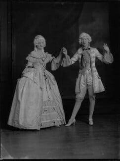 Lady Anne Maud Rhys (née Wellesley); (Lilian) Maud Glen (née Coats), Duchess of Wellington, by Lafayette - NPG x69961