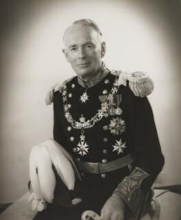 Sir Frederick Crawford, by A.C.T. Ward - NPG x7014