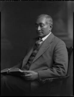 Abdullah Yusuf Ali, by Lafayette (Lafayette Ltd), 1 May 1930 - NPG x70297 - © National Portrait Gallery, London