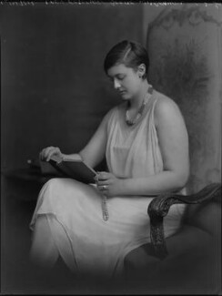 Lady Rosemary Wilma Cassidy (née Bootle-Wilbraham, later Bird), by Lafayette - NPG x70299