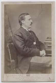Evelyn Baring, 1st Earl of Cromer, by Alexander Bassano - NPG x7033