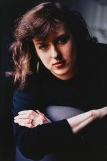 Julie Burchill, by Jillian Edelstein, 1990 - NPG x76322 - © Jillian Edelstein / Camera Press