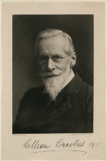 Sir William Crookes, by Rich & Co, after  Elliott & Fry - NPG x7044