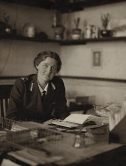 Dame Rachel Eleanor Crowdy, by Olive Edis - NPG x7055