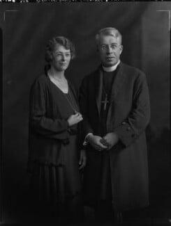 Ethel Kathleen Hicks (née Savage); (Frederick Cyril) Nugent Hicks, by Lafayette - NPG x70595