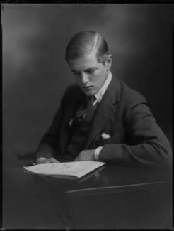 Randolph Frederick Edward Spencer Churchill, by Lafayette (Lafayette Ltd), 26 September 1930 - NPG x70657 - © National Portrait Gallery, London