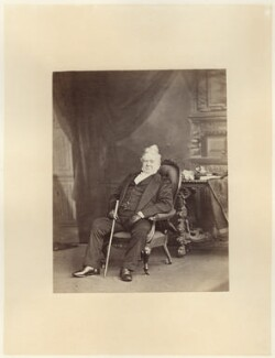 Hugh Cuming, by Ernest Edwards, published by  Lovell Reeve & Co - NPG x7067