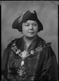 Lydia Dorothea Benoly, by Lafayette - NPG x70762