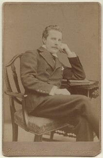 Harry Cust, by London Stereoscopic & Photographic Company - NPG x7092