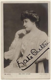 Kate Cutler (Mrs Sydney Ellison), by Johnston & Hoffmann - NPG x7096