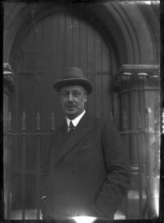Sir Cyril Stephen Cobb, by Mrs Albert Broom (Christina Livingston) - NPG x710