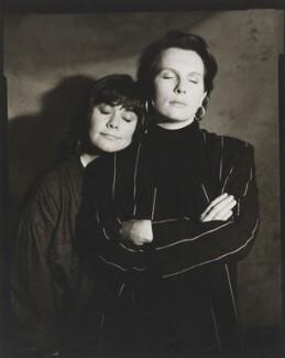 Dawn French; Jennifer Saunders, by Jillian Edelstein, 1991 - NPG x45386 - © Jillian Edelstein / Camera Press