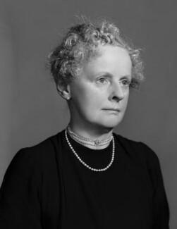 Dorothy Geraldine (née Welby), Lady Saltoun, by Bassano Ltd - NPG x71265