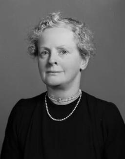 Dorothy Geraldine (née Welby), Lady Saltoun, by Bassano Ltd - NPG x71268