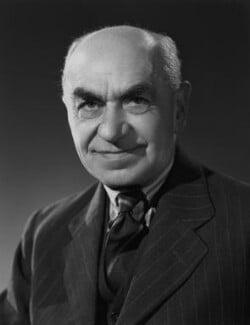 Sir Frederic Charles Bartlett, by Bassano Ltd - NPG x71361