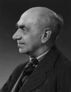 Sir Frederic Charles Bartlett, by Bassano Ltd - NPG x71364