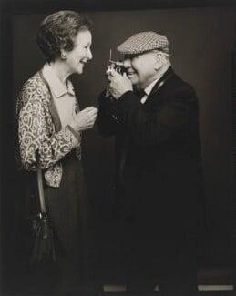 Anne Eleanor Scott-James (Lady Lancaster); Bert Hardy, by Jillian Edelstein - NPG x45383