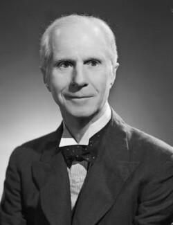 Sir Leonard Wilfred James Costello, by Bassano Ltd - NPG x71429