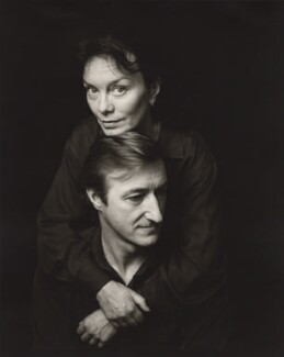 Julian Patrick Barnes and his wife Pat Kavanagh, by Jillian Edelstein - NPG x45381