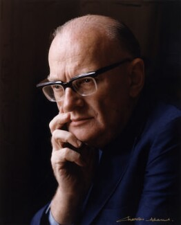 Sir Arthur Charles Clarke, by Charles Adams, 1976 - NPG x76582 - © Rocket Publishing