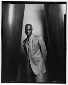 Ozwald Boateng, by Jillian Edelstein, 1997 - NPG x87784 - © Jillian Edelstein / Camera Press