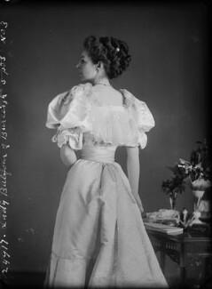 Katherine Gordon, Baroness Balfour of Burleigh, by Alexander Bassano - NPG x7172