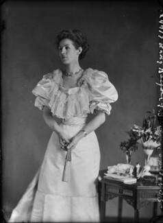 Katherine Gordon, Baroness Balfour of Burleigh, by Alexander Bassano - NPG x7174