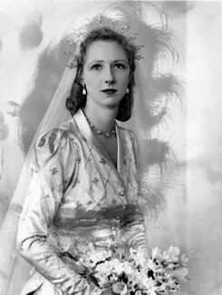 Lady Margaret Fortescue, by Bassano Ltd, 3 August 1948 - NPG  - © National Portrait Gallery, London
