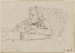 Douglas William Jerrold, by Edward Matthew Ward - NPG D10874