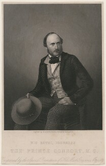 Prince Albert of Saxe-Coburg-Gotha, by Daniel John Pound, after  John Jabez Edwin Mayall - NPG D10866
