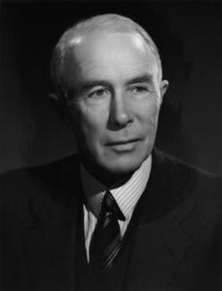 Sir George Cunningham, by Bassano Ltd - NPG x72324