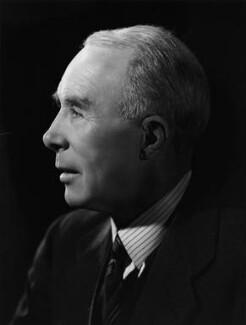 Sir George Cunningham, by Bassano Ltd - NPG x72326