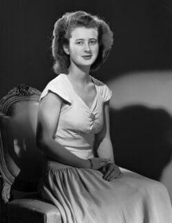Susan Mary MacRae (née Southwell), by Bassano Ltd - NPG x72404