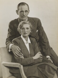 Philip Merivale and Dame Gladys Cooper, by Dorothy Wilding - NPG x6388