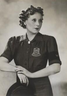 Dame Barbara Hamilton Cartland, by Dorothy Wilding - NPG x5691