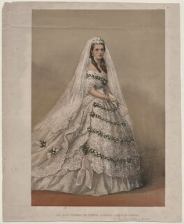 Queen Alexandra, by Unknown artist, circa 1863 - NPG D10877 - © National Portrait Gallery, London