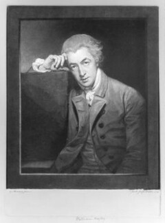 William Hayley, by Johann Jacobé, after  George Romney - NPG D10879