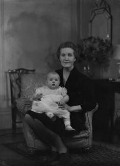 Marion Miranda Armstrong Buckley; Gwendolen Jane (née Armstrong-Jones), Lady Buckley, by Bassano Ltd - NPG x73139