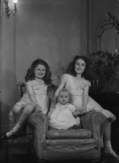 Catherine Elizabeth Armstrong Nunnely (née Buckley); Marion Miranda Armstrong Buckley; Jane Gwenllian Armstrong Slade (née Buckley), by Bassano Ltd - NPG x73140