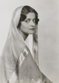 Indira Devi, Maharani of Cooch Behar, by Dorothy Wilding - NPG x6365
