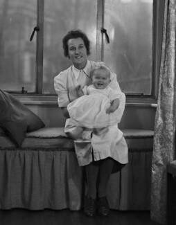 Irene Kohler; Harriet Mary Sheila Newton-Clare (née Nye), by Bassano Ltd - NPG x73198