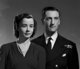 Constance Phillida Anne Jervis (née Logan), Viscountess St Vincent; Ronald George James Jervis, 7th Viscount St Vincent, by Bassano Ltd - NPG x73228