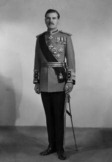 Sir Archibald Edward Nye, by Bassano Ltd - NPG x73307