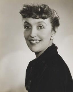 Joyce Grenfell, by Dorothy Wilding - NPG x16902