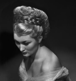 Christine Norden (née Mary Lydia Thornton), by Bassano Ltd, 2 May 1946 - NPG x73425 - © National Portrait Gallery, London