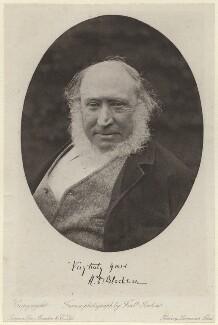 Richard Doddridge Blackmore, by Frederick John Jenkins, published by  Sampson Low, Marston & Co Ltd - NPG x7343